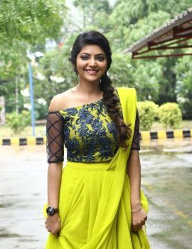 Tamil Actress Athulya Ravi at Nadodigal 2 Movie Audio Launch Function