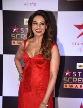 Bipasha Basu in Red Dress at Star Screen Awards