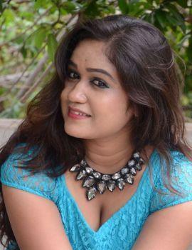 Telugu actress Brahmini Photos at Lovers Park Movie Launch Event