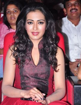 Catherine Theresa at Iddarammayilatho Audio Launch