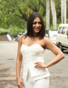 Catherine Tresa Stills At Gautham Nanda Trailer Launch