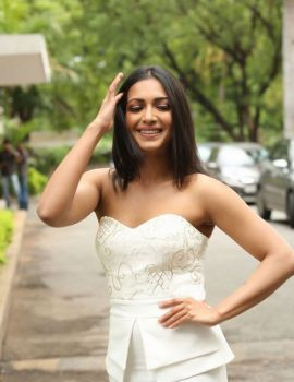 Catherine Tresa Stills At Gautham Nanda Trailer Launch
