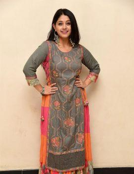 Chandni Bhagwanani Stills at Diksoochi Movie Trailer Release