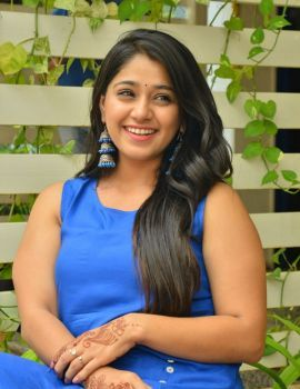 Chandni Bhagwanani Stills at Ratham Movie Promotion
