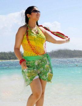 Actress Charmi in Short Skirt