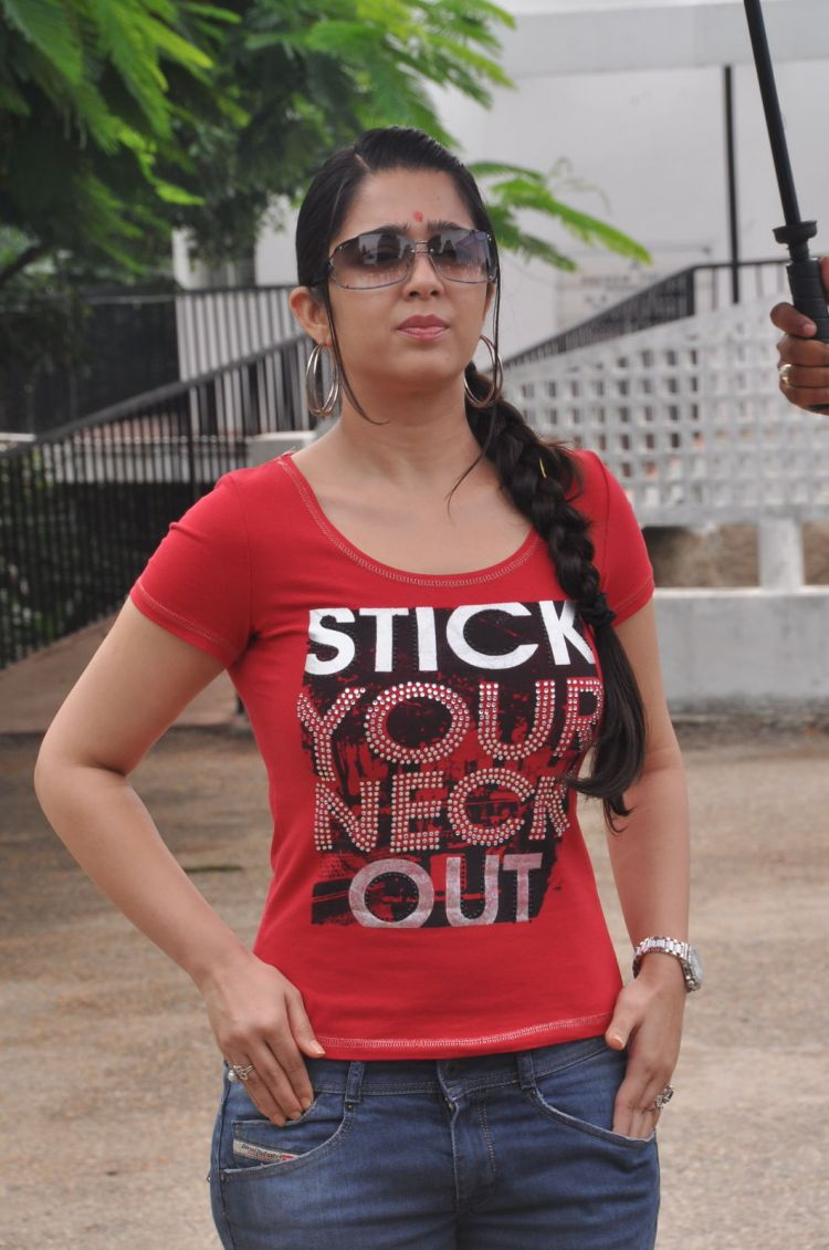 Actress Charmi Kaur at Mantra 2 Movie Launch