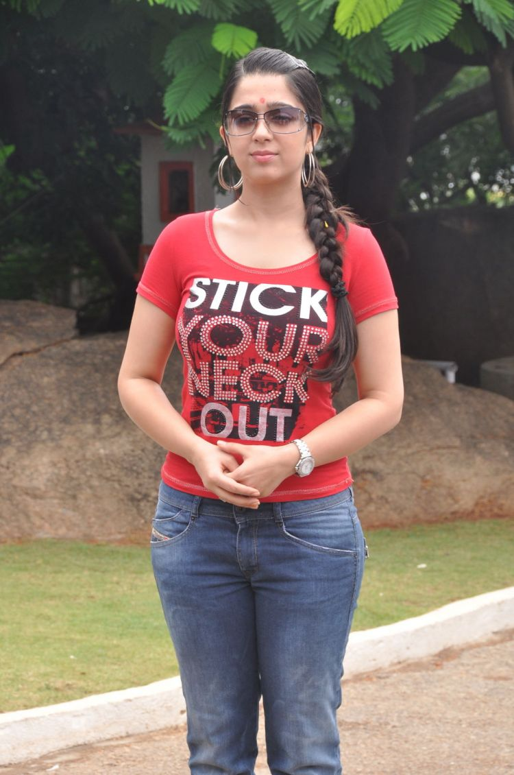 Actress Charmi Kaur at Mantra 2 Movie Launch