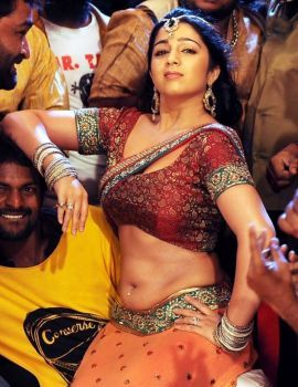 Actress Charmi's Hot Sakkubai Song Stills from Damarukam