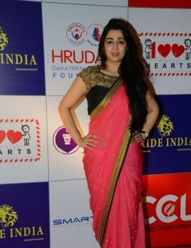 Actress Charmy Kaur at CCL Charity Dinner