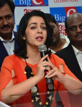 Charmi at Big C Dussehra-Diwali 2nd Week Lucky Draw Event