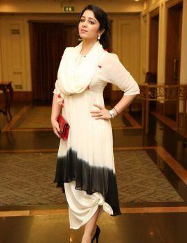 Charmi at Pink Ribbon Campaign Press Meet Held in Hyderabad