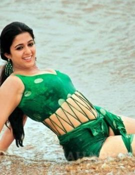 Charmi Hot Andamaina Aasa Undi Song in Beach