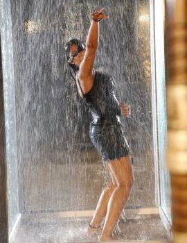 Charmi Hot Rain Dance Stills