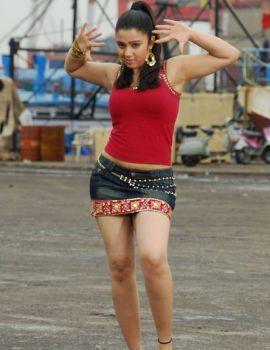 Charmi Hot Thigh Show in Short Skirt