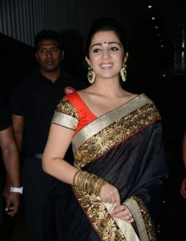 Charmi Kaur at Jyothi Lakshmi Audio Launch