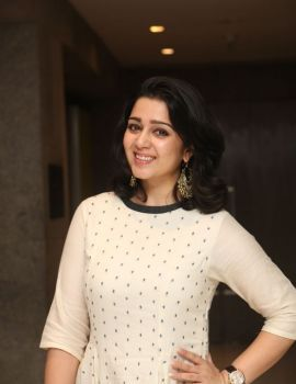 Charmi Kaur Photos at Tollywood Thunders Franchise Launch