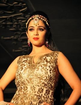 Charmi Kaur Ramp Walk Stills at Heal A Child Fashion Show