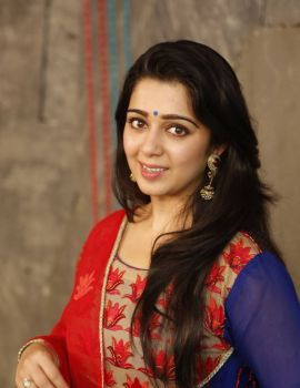 Charmi Kaur Stills at Jyothi Lakshmi Movie Interview