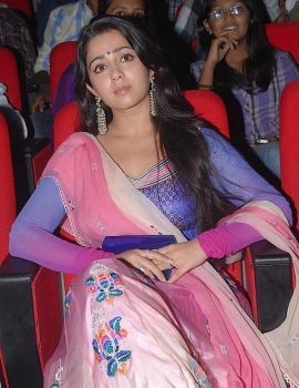 Charmi Stills at Businessman Movie Audio Launch