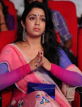 Charmi Stills at Businessman Movie Audio Launch