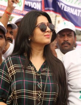 Charmi Stills at World Toilet Day Walk Event
