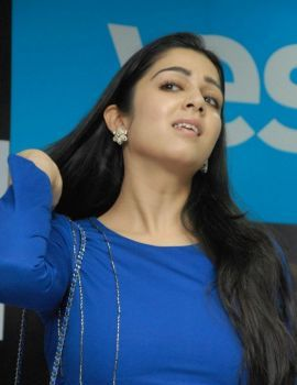 Charmi Stills at Yes Mart Showroom, Madhapur, Hyderabad