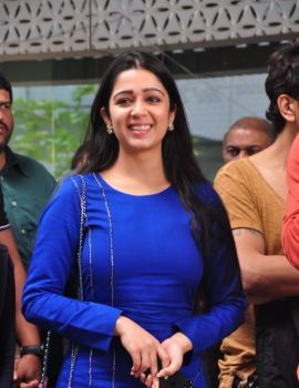 Charmi Stills at Yes Mart Showroom, Madhapur, Hyderabad