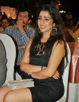 Charmy Kaur Stills at 365 Days Movie Audio Launch