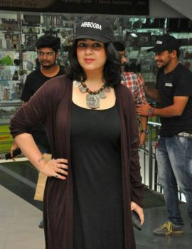 Charmy Kaur Stills at Mehbooba Press Meet
