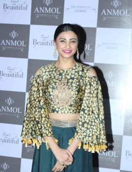 Daisy Shah Stills at Anmol Jewellers New Collection Launch