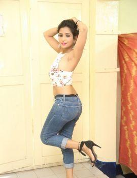 Deekshitha Parvathi dazzling at Pochampally IKAT Art Mela Launch