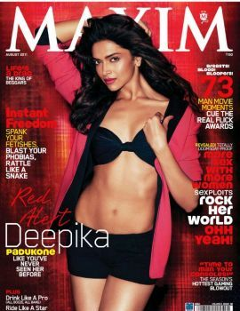 Deepika Padukone in Maxim India August 2011 Issue