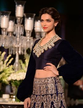 Deepika Padukone Walks for Manish Malhotra