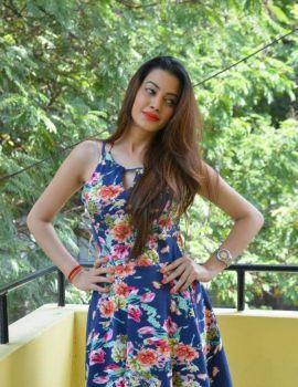 Diksha Panth Photos at Chal Chal Gurram Release Press Meet