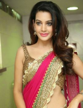 Diksha Panth Photos at Joyalukkas International Jewellery Show