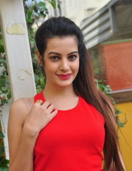 Telugu Actress Diksha Panth Photos from Harbour Pub & F Club Logo Launch
