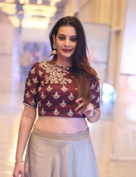 Telugu Actress Diksha Panth Stills at Ego Movie Audio Launch
