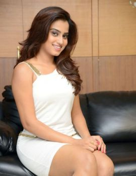 Dimple Chopade Sizzling Stills in White Short Dress