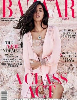 Disha Patani Photos Harpers Bazaar Magazine July 2017