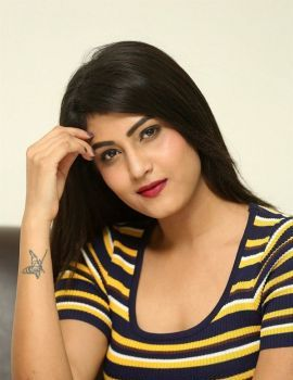 Actress Divya Rao Photos at Degree College Movie Press Meet