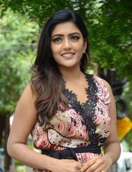 Eesha Rebba Stills at Brand Babu Movie Promotions