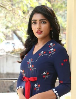 Eesha Rebba stills at Ragala 24 Gantallo Movie Promotions
