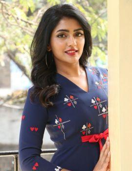 Eesha Rebba stills at Ragala 24 Gantallo Movie Promotions
