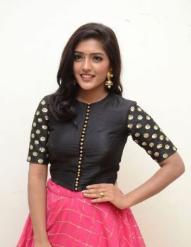 Telugu Actress Eesha Rebba Stills at Gentleman Movie Audio Launch