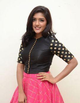 Telugu Actress Eesha Rebba Stills at Gentleman Movie Audio Launch