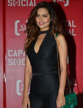 Esha Gupta at Capital Social Restaurant Launch in Mumbai