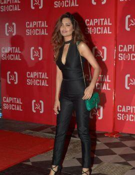 Esha Gupta at Capital Social Restaurant Launch in Mumbai