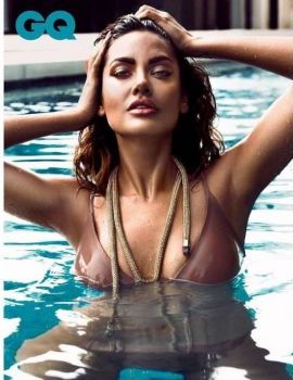 Esha Gupta Hot Bikini Shoot for GQ India November 2017