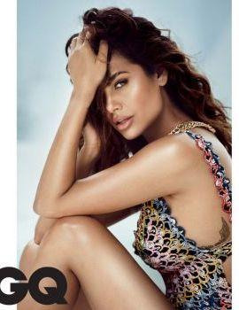 Esha Gupta Hot Bikini Shoot for GQ India November 2017