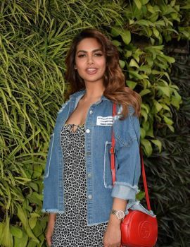 Esha Gupta Photos at Charcoal Project 2018